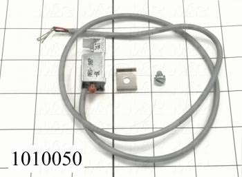 "Reed Switch, 3 Wire, Normally Open, 24"" Pigtail Leads, 200V, 500mA"