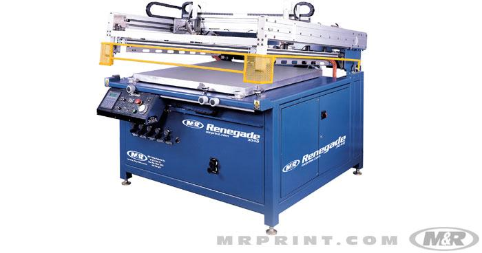 Renegade Flatbed Graphic Press