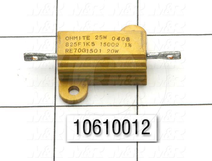 Resistor, 1.5K Ohm, 50W