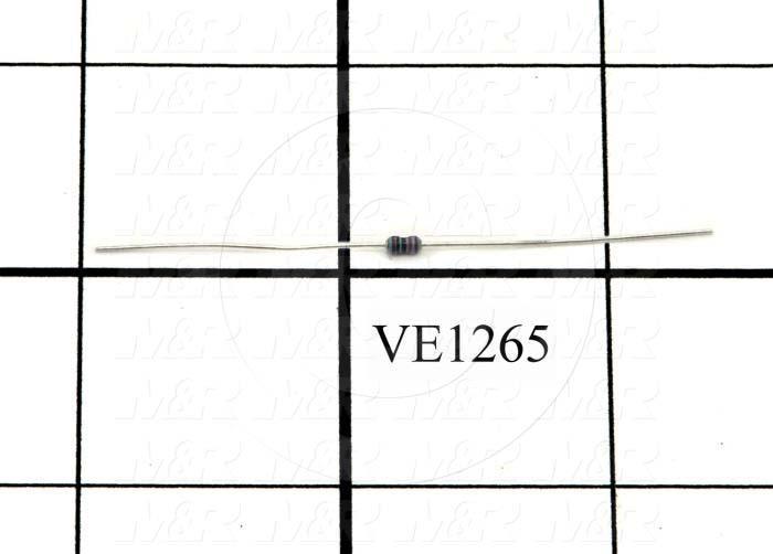 Resistor, 10K Ohm, 1/8W, 1%MF