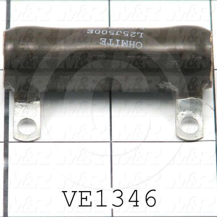 Resistor, 500 Ohm, 25W