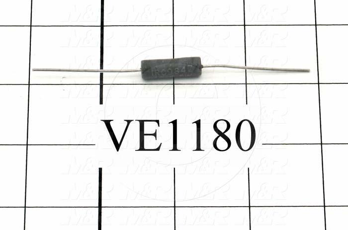 Resistor, 600 Ohm, 5W