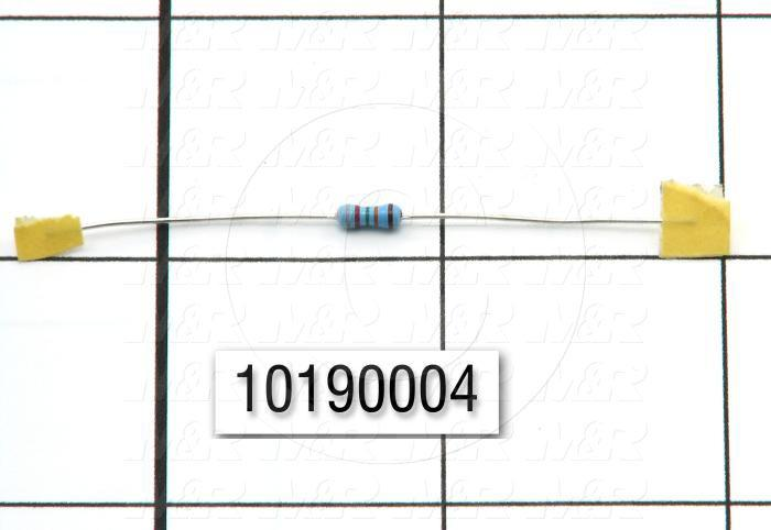 Resistor, 825K Ohm, 0.25W, 1%MF