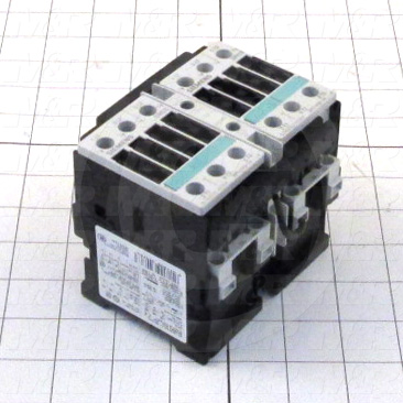 Reversing Contactor, 3, 110VAC Coil Voltage, 35A, 5 HP @ 3PH 200VAC, 15 HP @ 3PH 460VAC, 2, 575VAC, Screw Terminals Connection