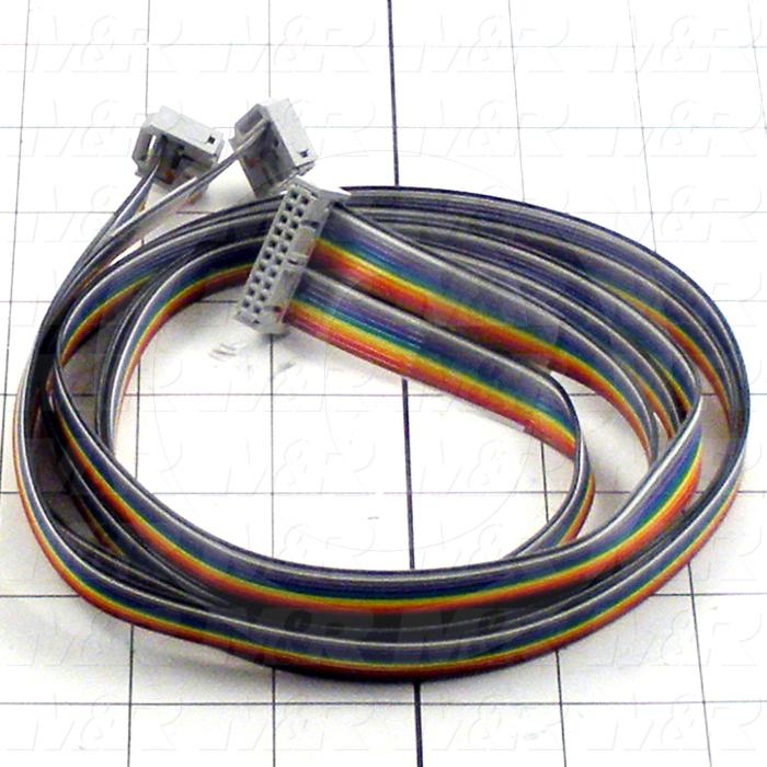 Ribbon Cable, 1m, 2x10 Pin, To 1x20 Pin, For Fp-Sigma