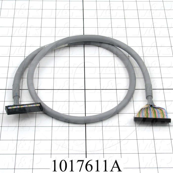 Ribbon Cable, 40 Pin, To 40 Pin, For Pan. I/O Module