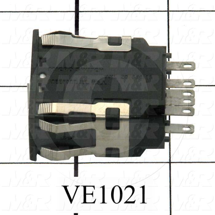 Rocker Switch, DPDT - Details