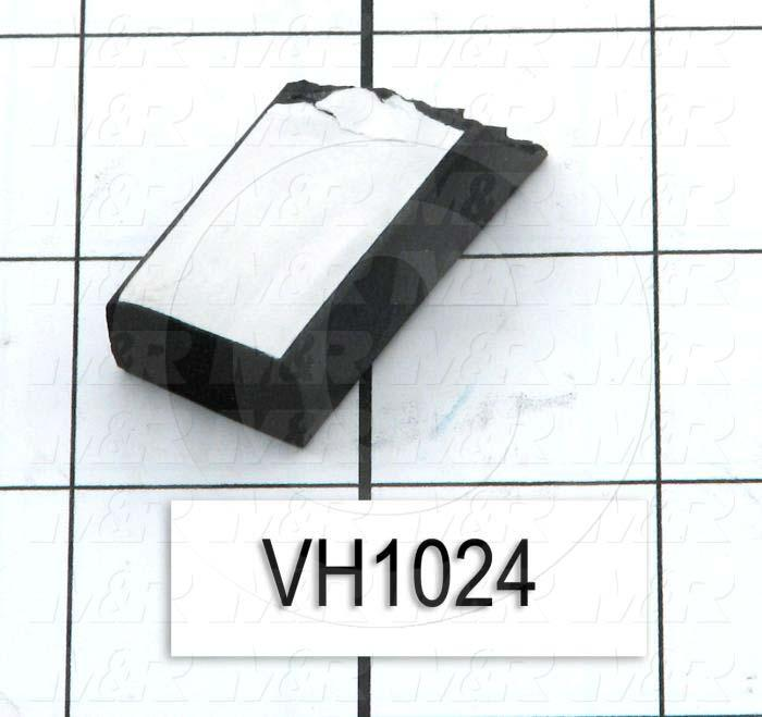 "Rubber, EPDM Sponge Solid Rectangle, 0.75"" Width, 0.50"" Thickness, Used for Exposure Unit Blanket Assembly"