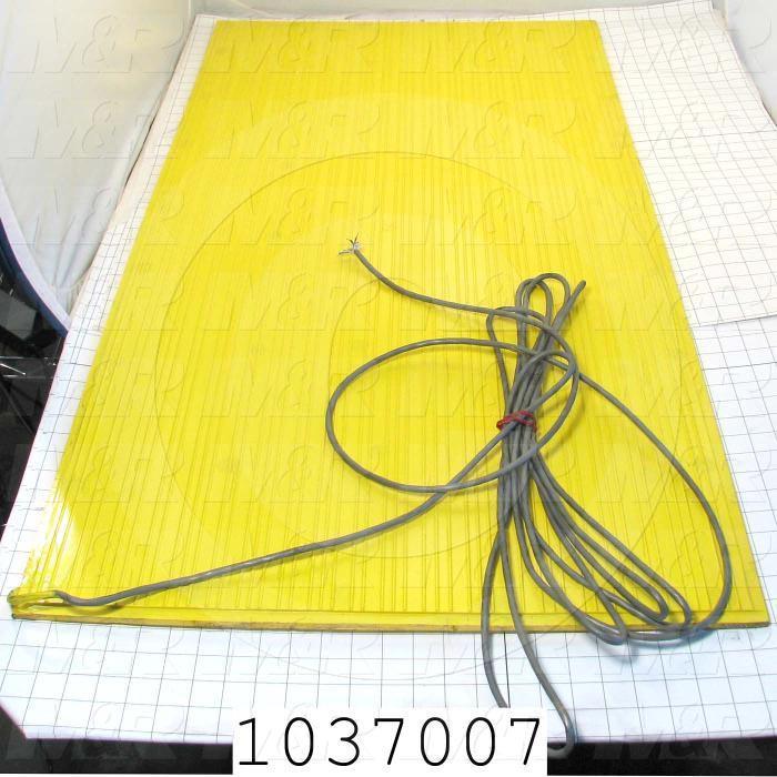 """Safety Mat, 34.5""""X43.0""""X22.5"""""""