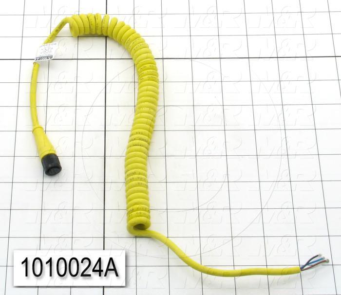 Sensor Cable, Coil, 7'