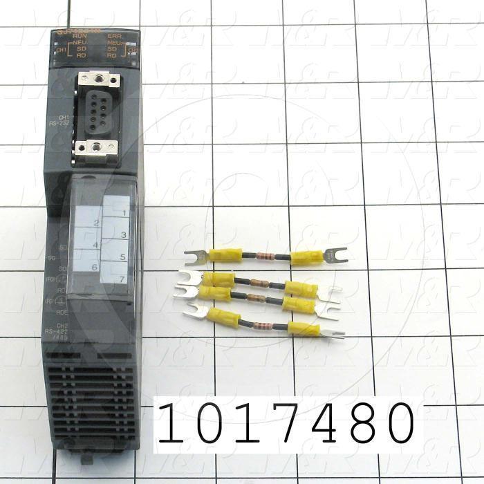 Serial Communication Module, PLC Q Series, RS232, RS422/485