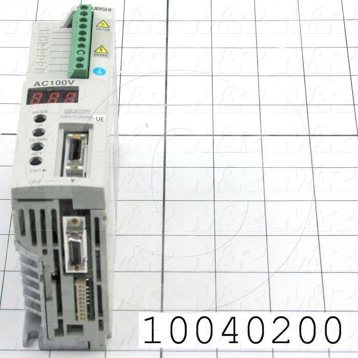 Servo Amplifier Drive, 200W, 110VAC, 1 Phase