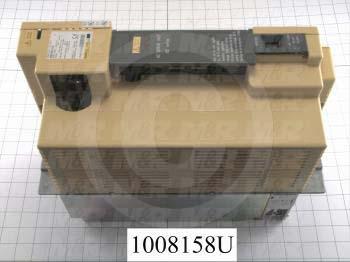 Servo Amplifier Drive, Alpha SVU1, 130A