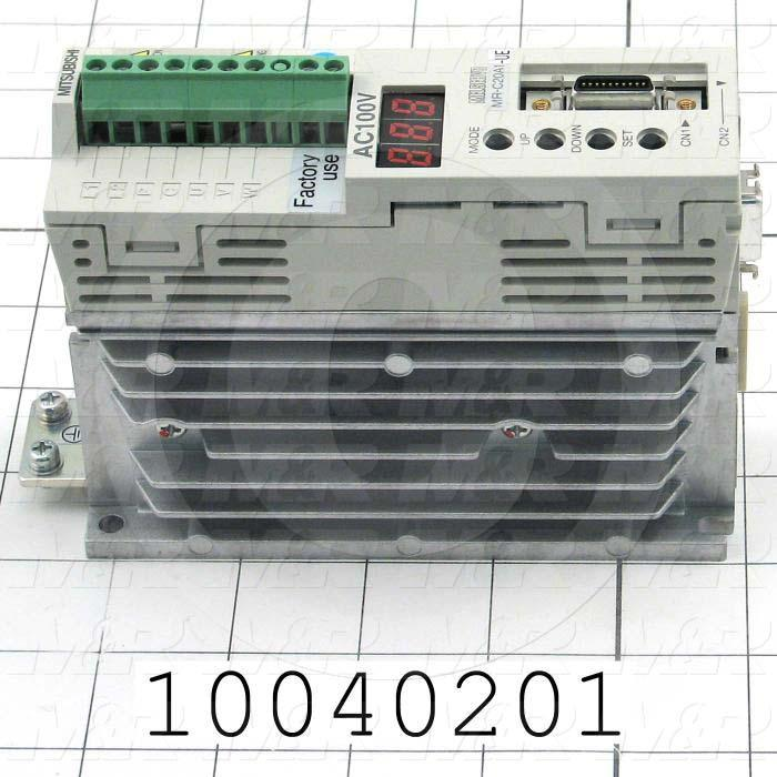 Servo Amplifier Drive, MR-C Series, 200W, 110VAC