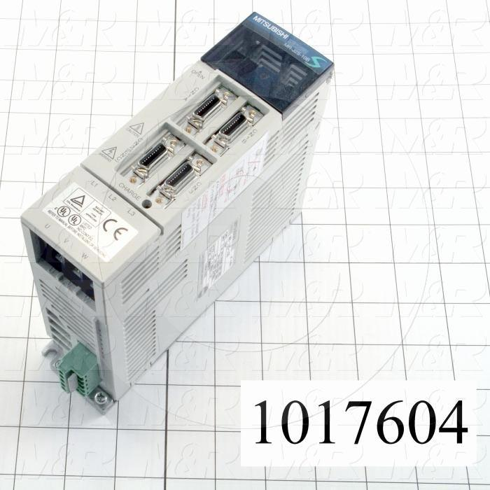Servo Amplifier Drive, MR-J2S Series, 100W, 200VAC, 3 Phase