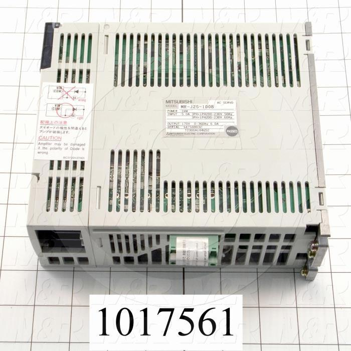 Servo Amplifier Drive, MR-J2S Series, 1KW, 200VAC, 3 Phase, SSCNET - Details