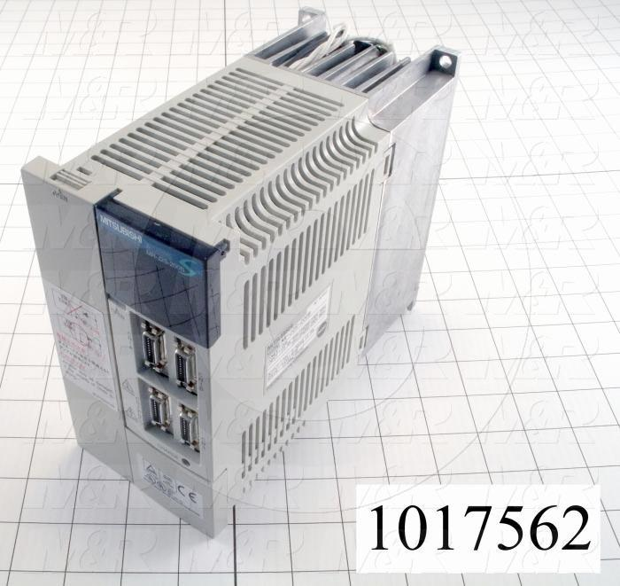 Servo Amplifier Drive, MR-J2S Series, 2KW, 200-230VAC, 3 Phase, 50/60Hz