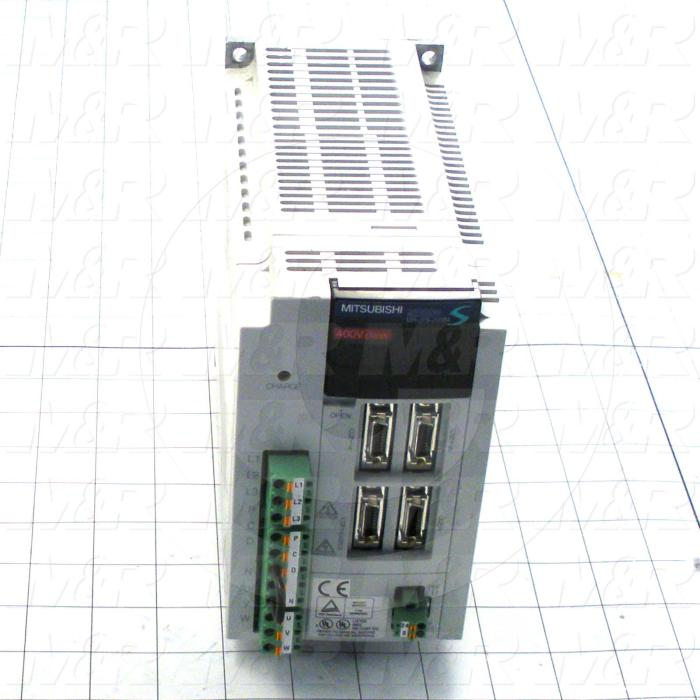 Servo Amplifier Drive, MR-J2S Series, 2KW, 400VAC, 3 Phase