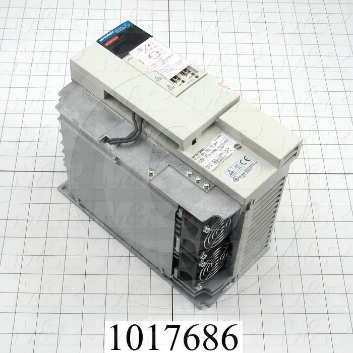 Servo Amplifier Drive, MR-J2S Series, 5KW, 400VAC, 3 Phase