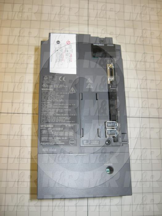 Servo Amplifier Drive, Safety, MR-J3 Series, 5KW, 400VAC, SSCNET