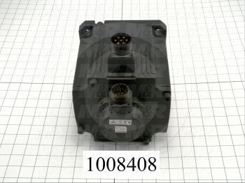 Servo Motor, 3KW, 1000RPM, with Brake