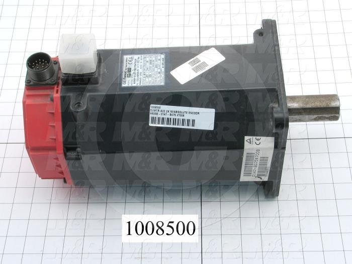 Servo Motor, A22/2000, Absolute Encoder