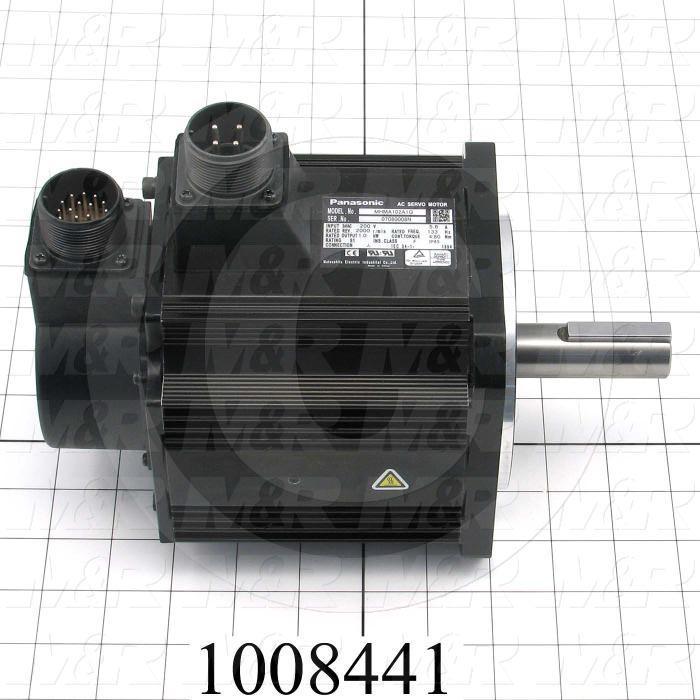 Servo Motor, MHMA Series, 1KW, 230VAC