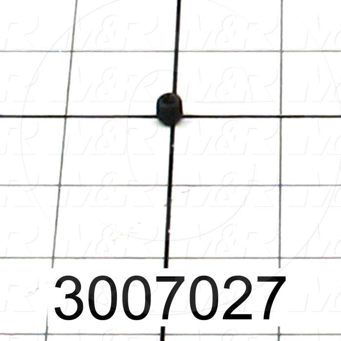 Set Screws, Socket, 1/4-28 Thread Size, 1/4 in. Length, Cup Point, Steel, Black