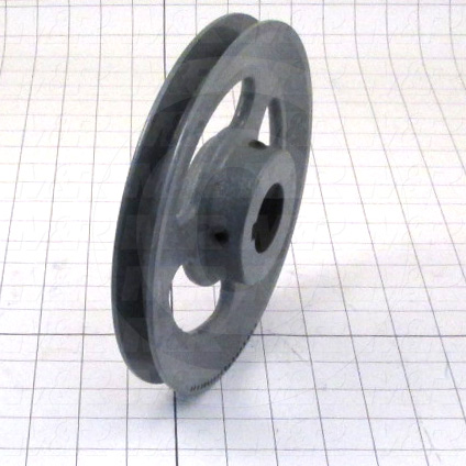"Sheaves, Single Groove, BK80 Sheave Type, 1.44"" Bore Size, 7.750"" Outside Diameter, Steel Material"