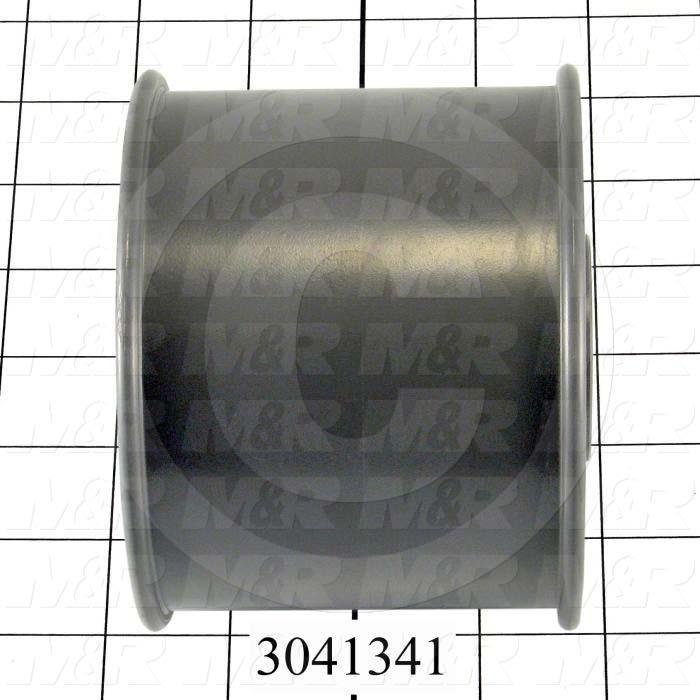 "Sheaves, Single Groove, N6D4F Sheave Type, 1.00"" Bore Size, 4.50"" Outside Diameter, Steel Material"