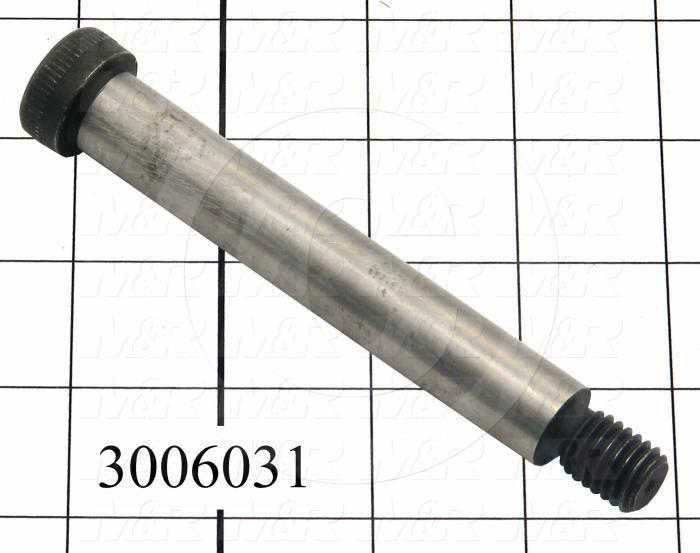 """Shoulder Screws, Socket Head, Alloy Steel, Shoulder Dia. 5/8"""", Shoulder Length 4 in."""