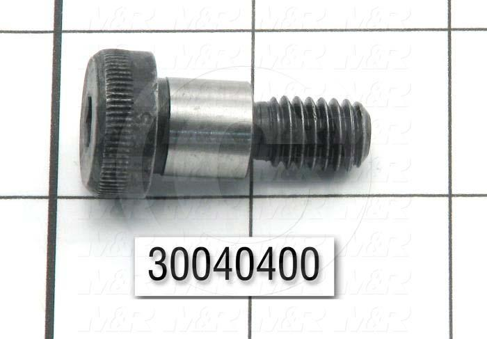 "Shoulder Screws, Socket Head, Steel, Shoulder Dia. 1/2"", Shoulder Length 1/2"""