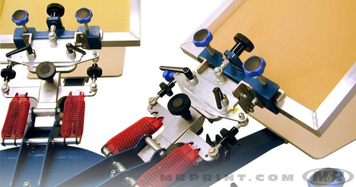SIDEWINDER Manual Screen Printing Press manual textile press