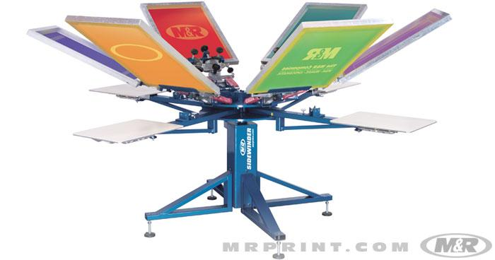 SIDEWINDER Manual Screen Printing Press manual textile press