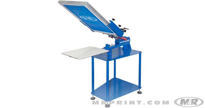 Sidewinder Solo Manual Screen Printing Press