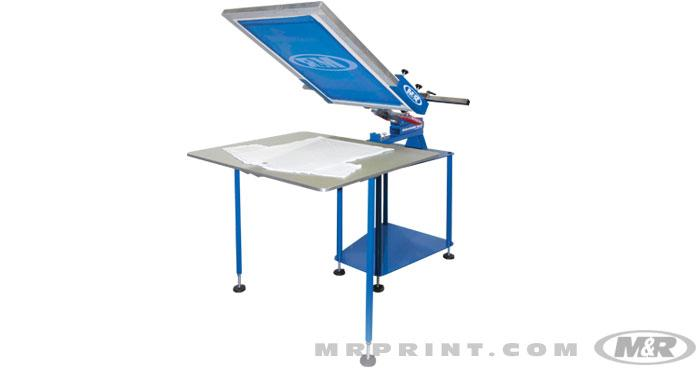 Sidewinder Solo Manual Screen Printing Press