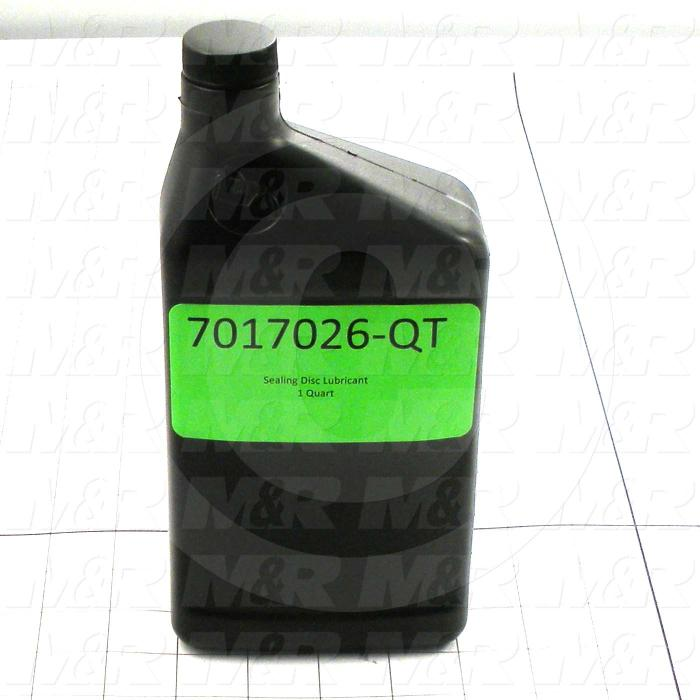 Silicone Oil, 1 Quart In Size, Used On Amscomatic Conveyor Sealer Model H-175, Temperature Rating 350F
