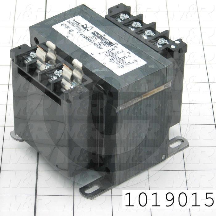 Single Phase Transformer, 150VA, 208/230/460V Primary Voltage, 115V Secondary Voltage, 50/60Hz