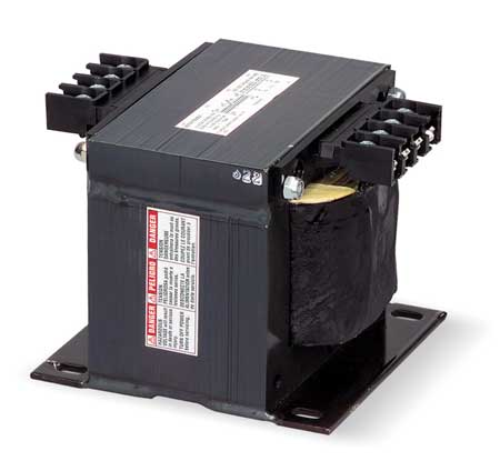 Single Phase Transformer, 1KVA, 240/480VAC Primary Voltage, 120VAC Secondary Voltage