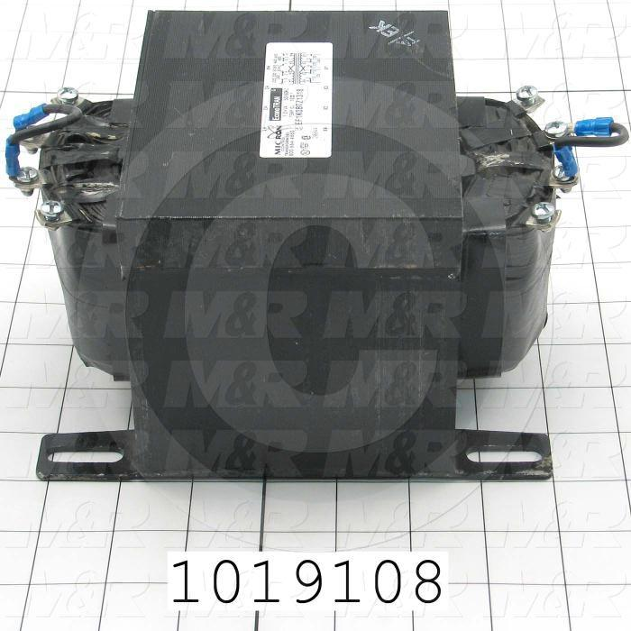 Single Phase Transformer, 1KVA, 240x480/230x460/220x440V Primary Voltage, 120/115/110V Secondary Voltage