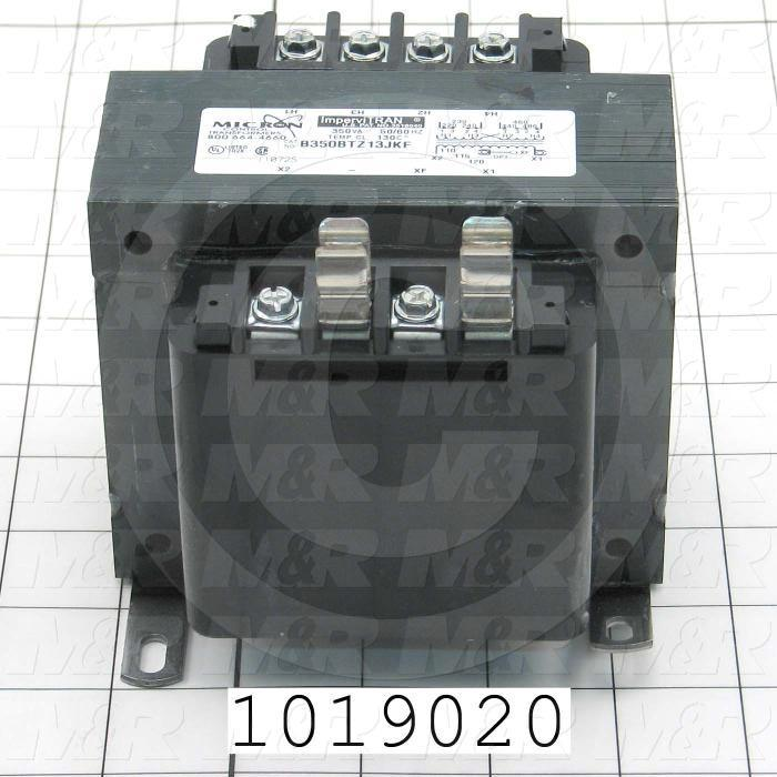 Single Phase Transformer, 350VA, 240x480/230x460/220x440V Primary Voltage, 120/115/110V Secondary Voltage