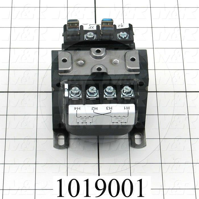 Single Phase Transformer, 50VA, 240x480/230x460/220x440V Primary Voltage, 120/115/110V Secondary Voltage