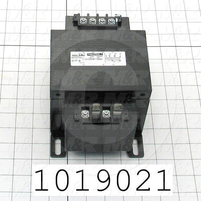 Single Phase Transformer, 750VA, 240x480/230x460/220x440V Primary Voltage, 120/115/110V Secondary Voltage