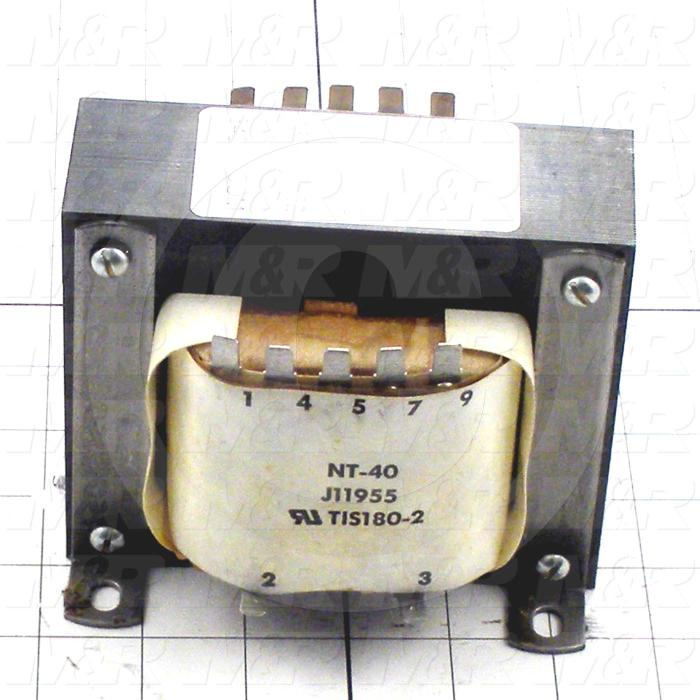 Single Phase Transformer, Power Transformer, 800VA, 110/200/220/240V Primary Voltage, 120VAC Secondary Voltage, 60Hz