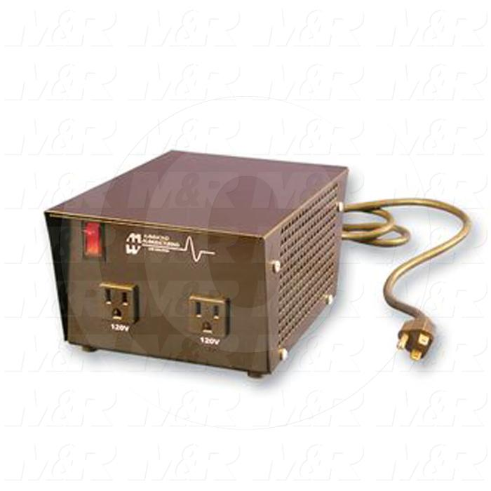 Single Phase Transformer, Voltage Transformer, 1.5kVA, 240VAC Primary Voltage, 120VAC Secondary Voltage, 50/60Hz