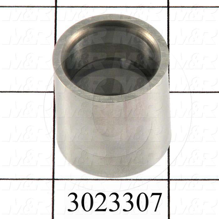 """Sleeve, 1.00"""" Outside Diameter, 0.75 in. Inside Diameter, 1.00"""" Overall Length, Steel Material"""