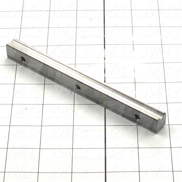 Slide (Rail) Guide, Rail, Steel, 15 mm Width of Rail, 160 mm Length of Rail