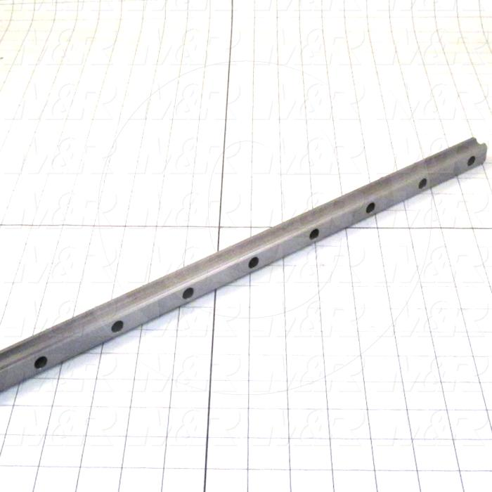 Slide (Rail) Guide, Rail, Steel, 20 mm Width of Rail, 1000 mm Length of Rail
