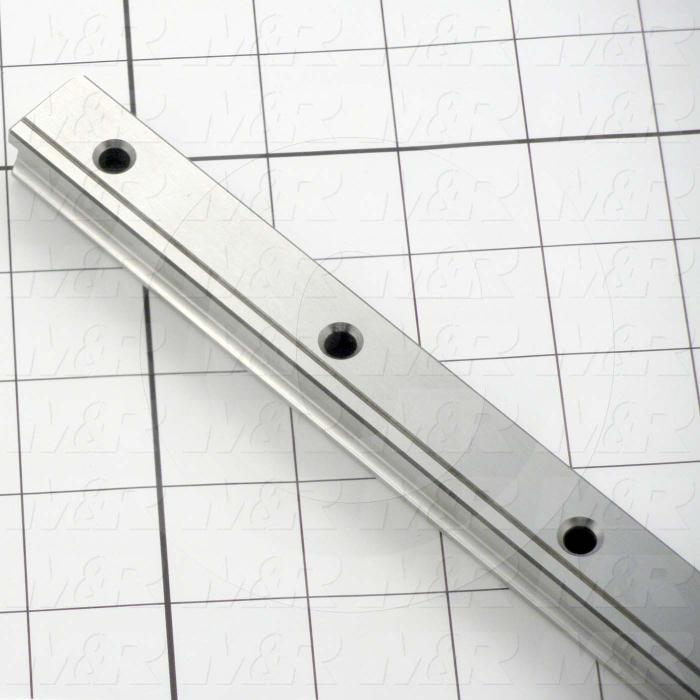 Slide (Rail) Guide, Rail, Steel, 20 mm Width of Rail, 1000 mm Length of Rail