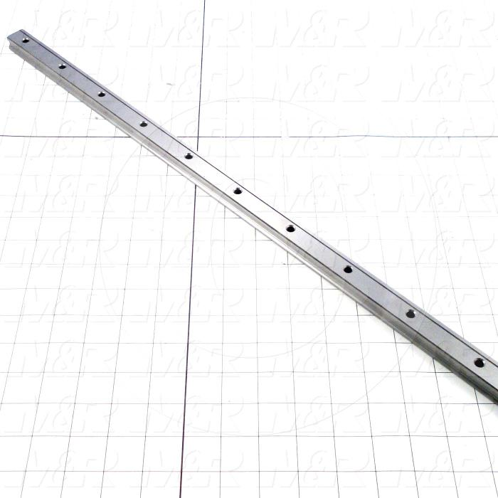 Slide (Rail) Guide, Rail, Steel, 20 mm Width of Rail, 1120 mm Length of Rail